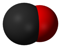 Монооксид углерода: вид молекулы