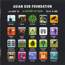 Обложка альбома «A History of Now» (Asian Dub Foundation, 2011)
