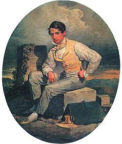 Автопортрет, 1830 г.