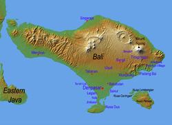 Бали на карте мира. География, население и культура Бали