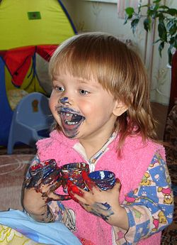 Girl eating paint.jpg