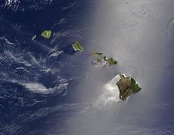 Где находятся Гавайские острова на карте мира?