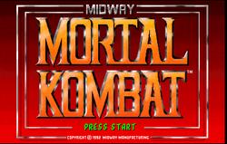 Logo of Mortal Kombat