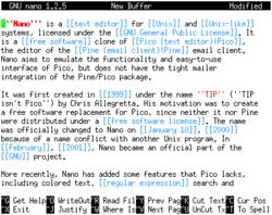 Скриншот nano 1.2.5