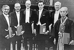 Nobel prize winners 1968.jpg