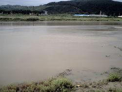 Река Туманган (вид со стороны Китая)