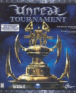 Unreal Tournament U.S. PC box cover