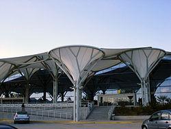 Вход в аэропорт Сплита