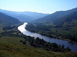 Долина реки Чарыш.
