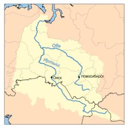 бассейн Оби и Иртыша