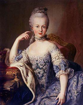 Мария антуанетта австрийская