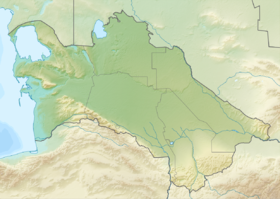 Туркменское озеро (Туркмения)