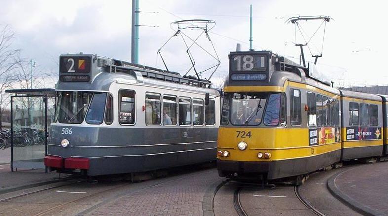 Трамвай данного типа работал с