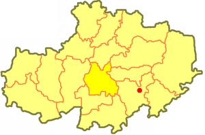 Астраханский район на карте