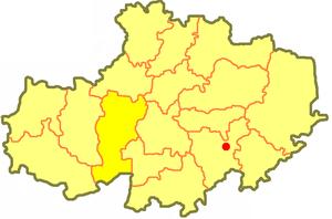 Атбасарский район на карте