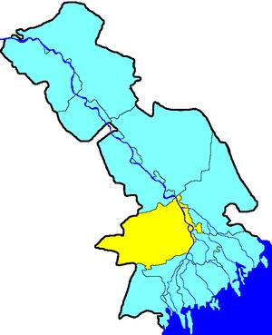 Наримановский муниципальный район на карте