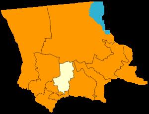 Байзакский район на карте