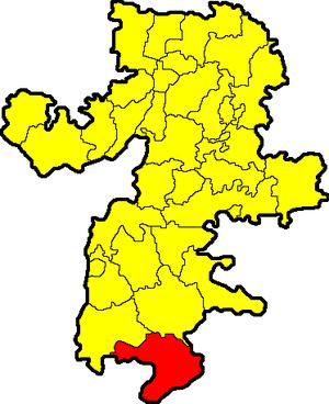 Брединский муниципальный район на карте