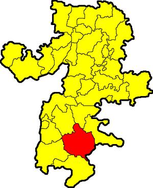 Карталинский район на карте