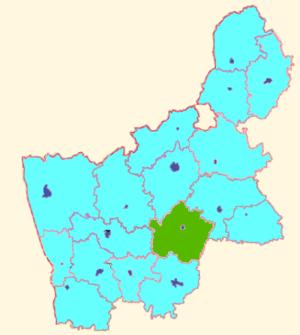 Дятловский район на карте