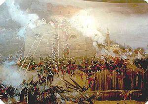 Izmail fortress siege by Shiflyar XIXc.jpg