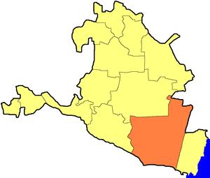 Черноземельский муниципальный район на карте