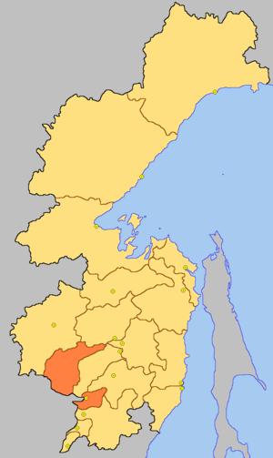 Хабаровский район на карте