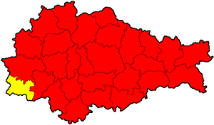 Глушковский район на карте