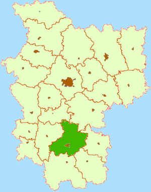 Слуцкий район на карте