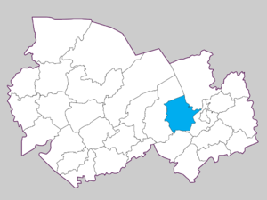 Коченёвский район на карте