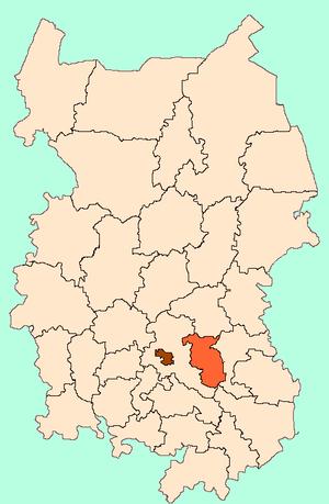 Кормиловский район на карте