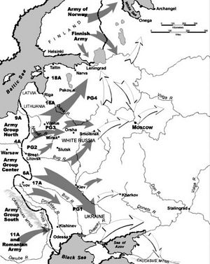 Barbarossa. Drang nach Osten.