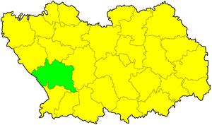 Белинский район на карте