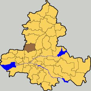 Красносулинский муниципальный район на карте