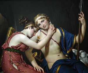 Женский греческий профиль