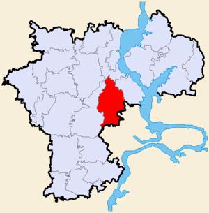 Тереньгульский район на карте