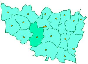 Собинский район на карте