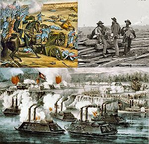 Война сша гражданская война в сша