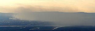 Впадение правого притока Валёк в Норильскую.