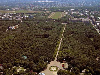 фото парк горького в харькове
