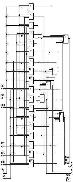 схема одноразрядного