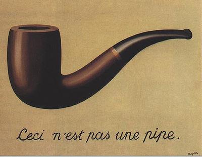 Р.Магритт. Вероломство образов, 1928-1929