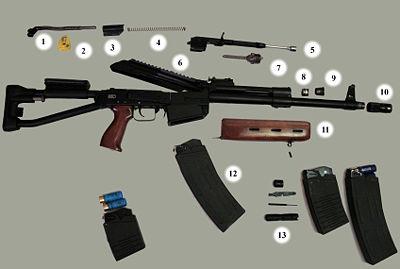Сайга (огнестрельное оружие) Википедия