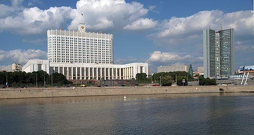 Белый дом и здание СЭВ