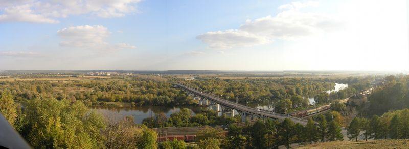 Мост через Клязьму во Владимире