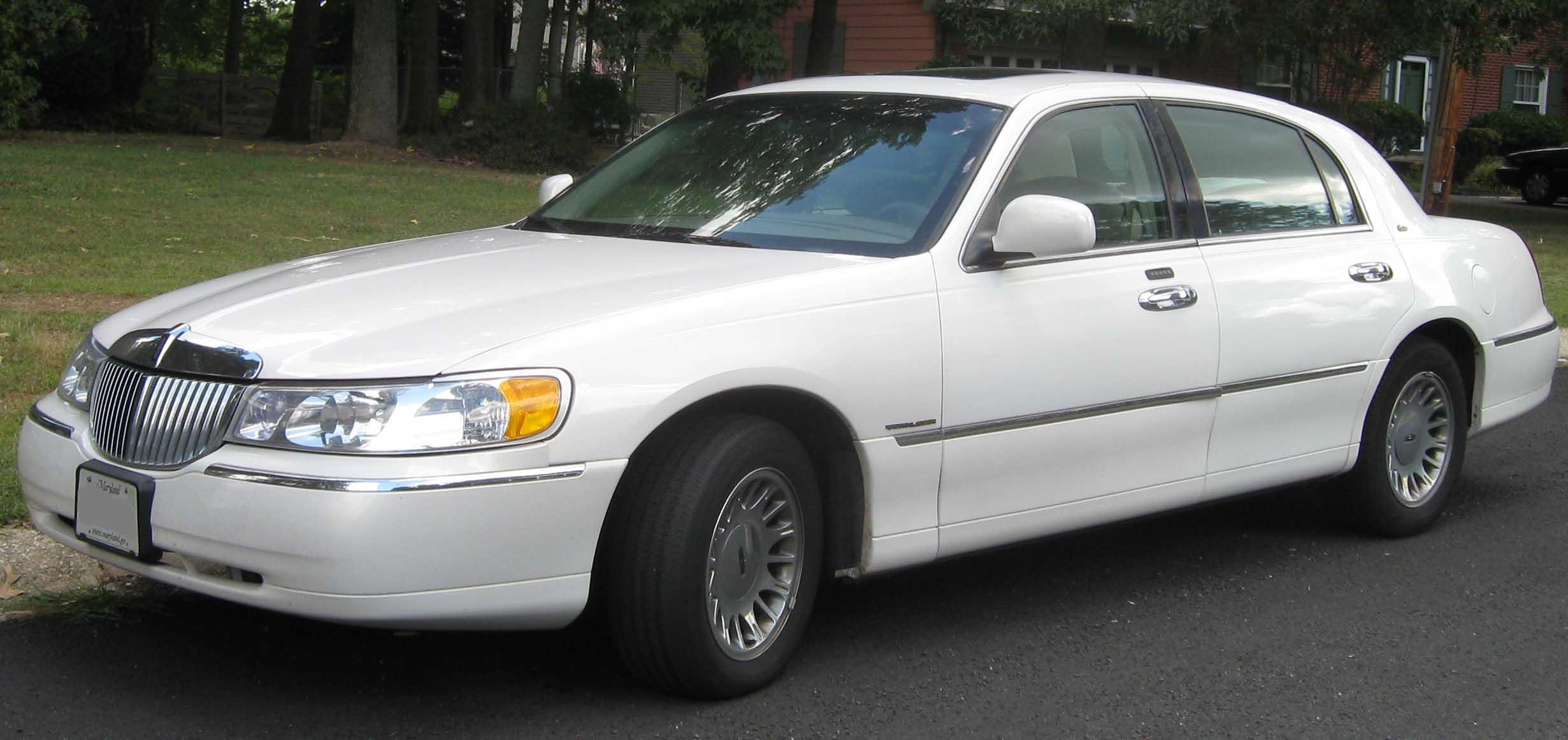 Lincoln Town Car это Что такое Lincoln Town Car