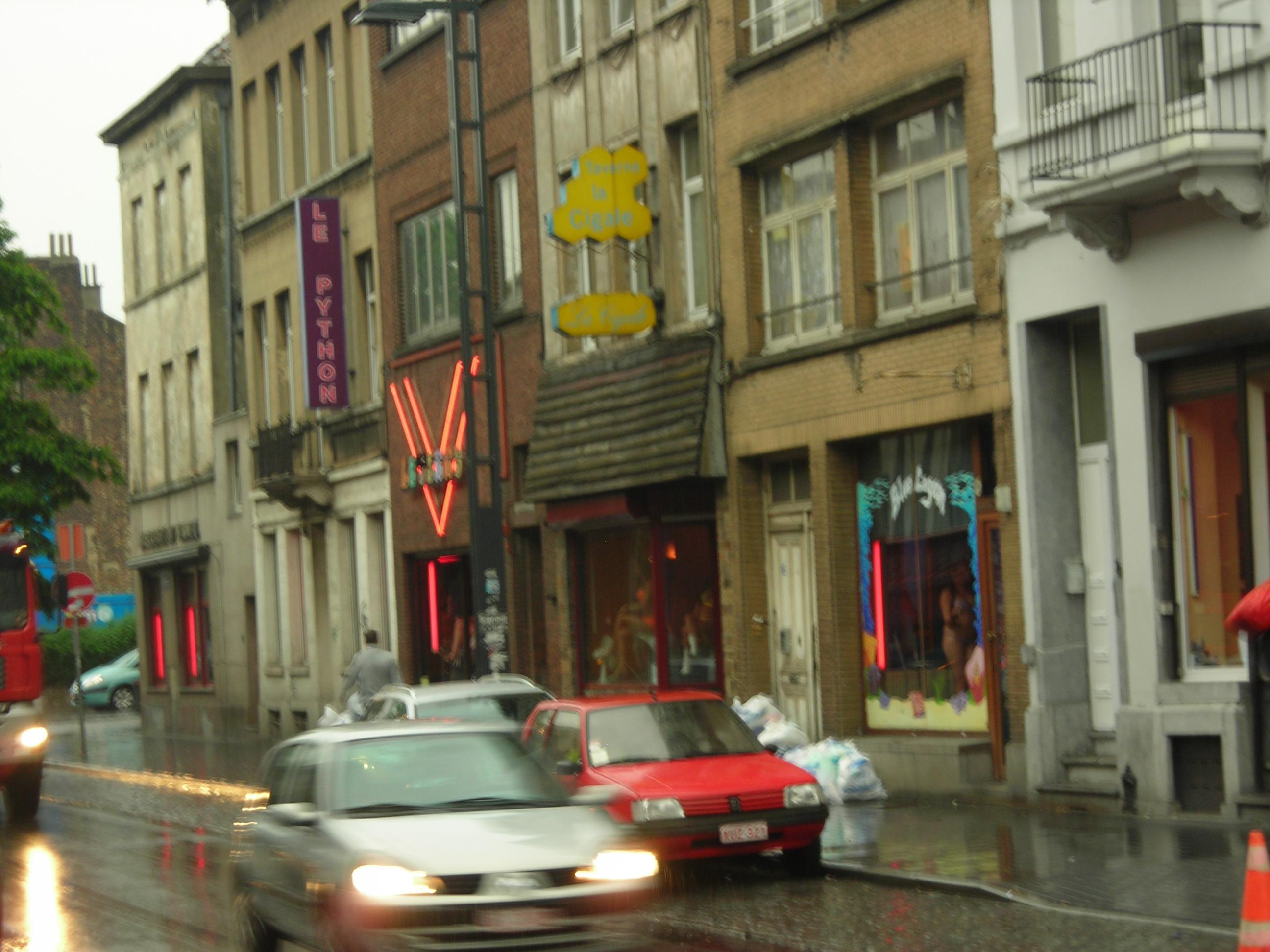 Проститутки в Бельгии  prostitutkispbsu