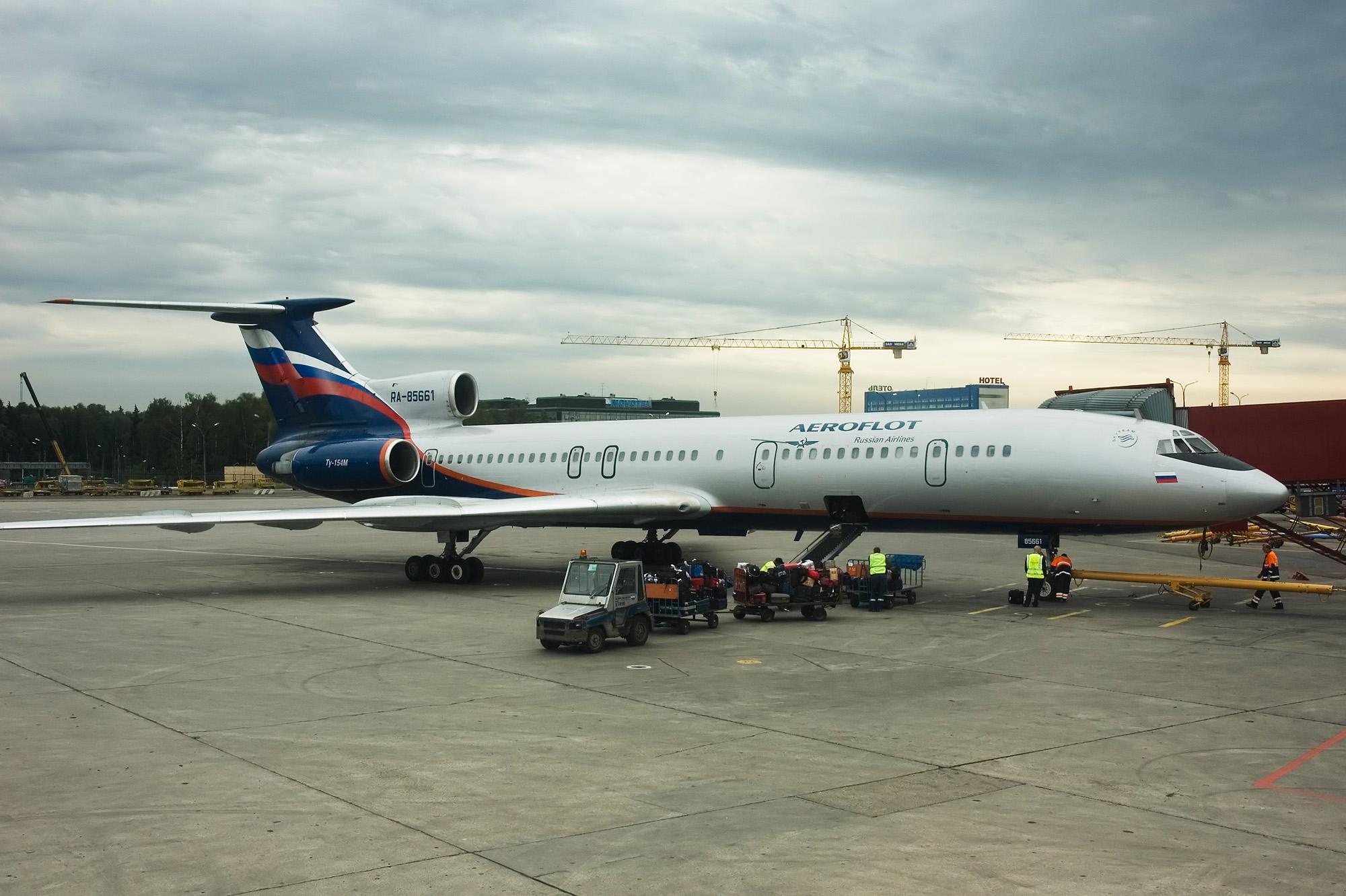 аэрофлот ту-154 фото