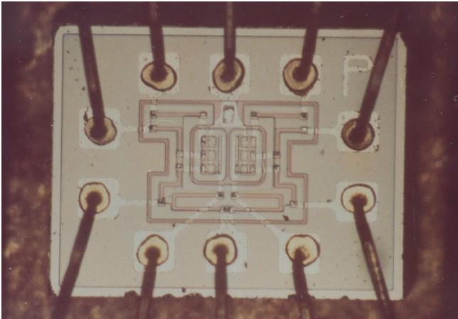 Изобретение интегральной схемы