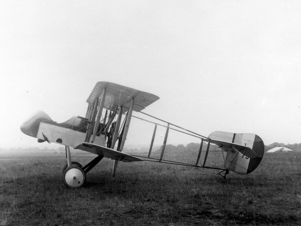 Обои самолёт-разведчик, Royal aircraft factory, английский, r.e.8. Авиация foto 10